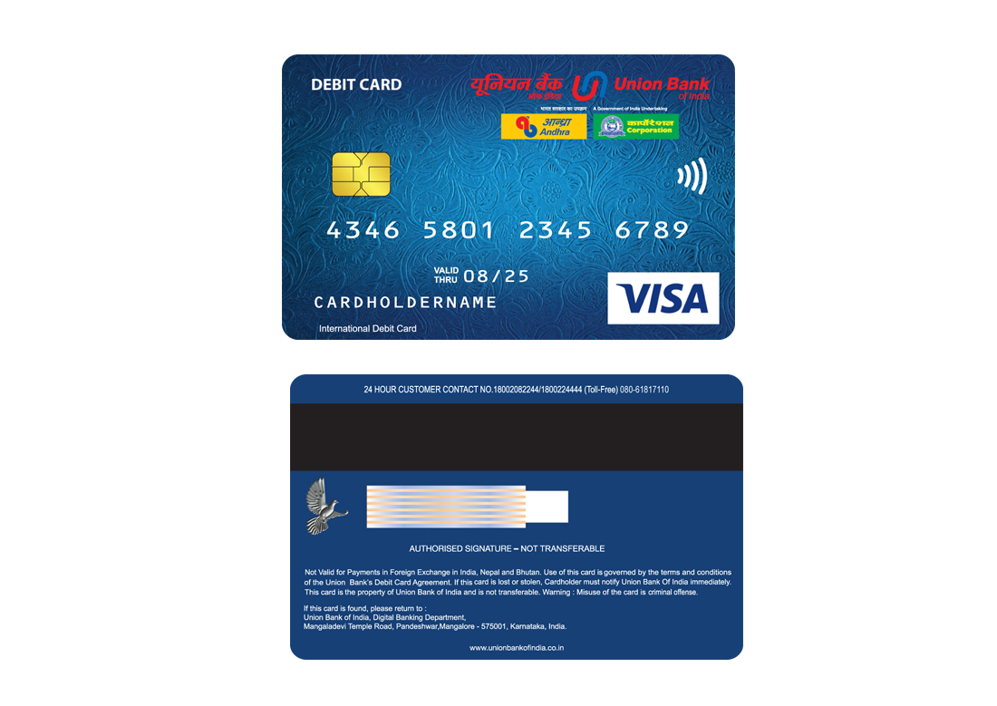 contactless debit card visa